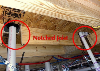Notched Beam under home