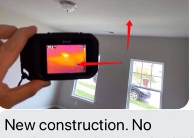 Infrared Scanning On New Construction